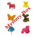 Mystery Box Hard Candy Lollipops  - 6 GRAB BAG SPECIAL