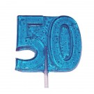 50th - Birthday or Anniversary Lollipop